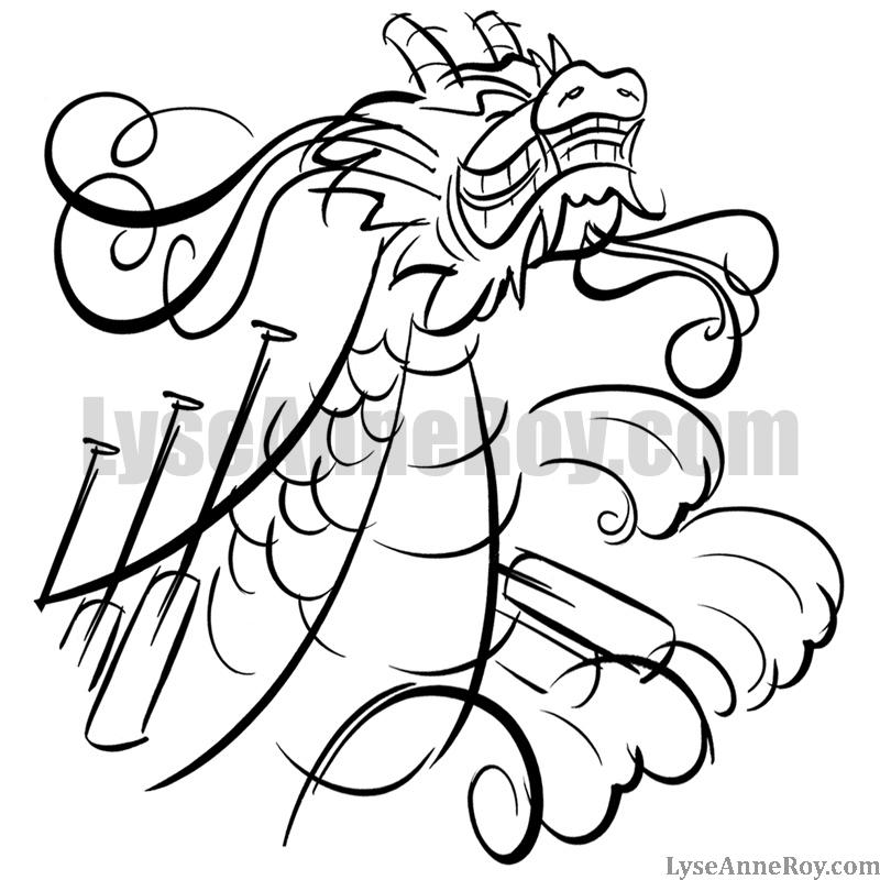 Bateau dragon