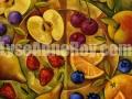 Sous-verres fruités