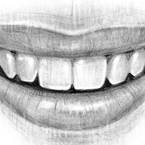 Comment dessiner des dents?
