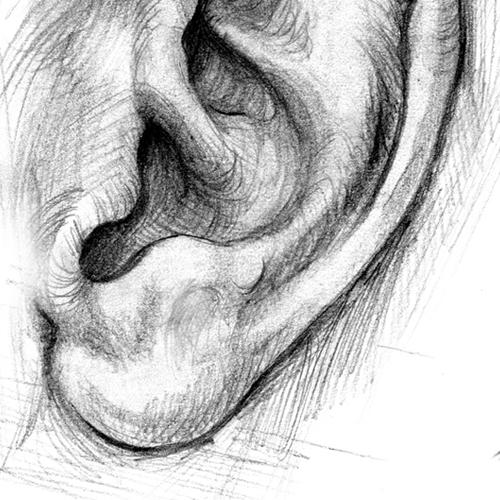 Comment dessiner une oreille?