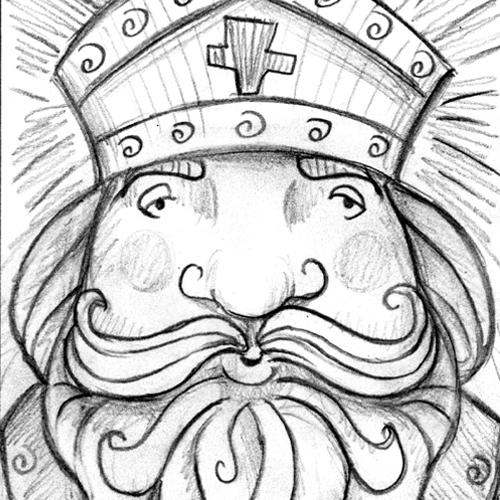 Comment dessiner Saint-Nicolas?