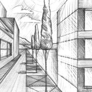 i cours 6 perspective urbaine
